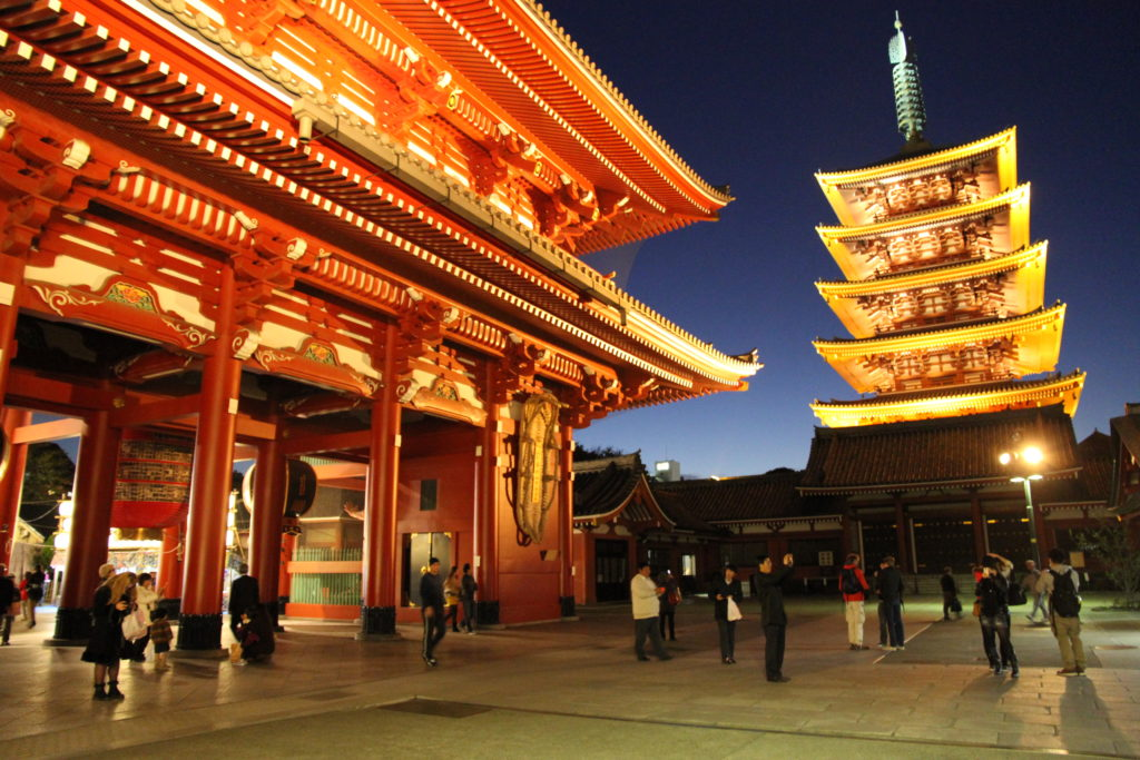 Asakusa and the Sensō-ji Temple