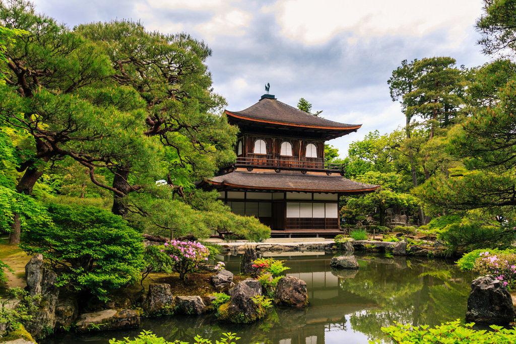 Ginkaku-ji Temple - The Silver Pavillion in Kyoto