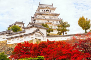 Himeji Castel in Autumn - destination wedding