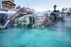 Onsen Ryokan in Japan - destination wedding