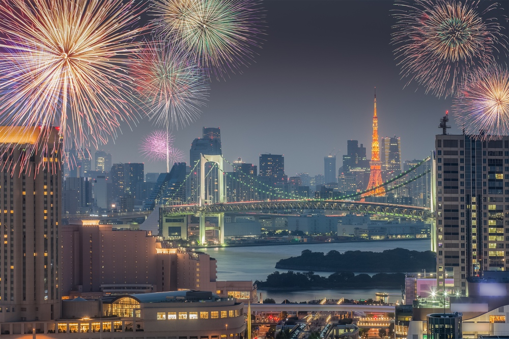 Things to Do in Tokyo During Summer - fireworks festival